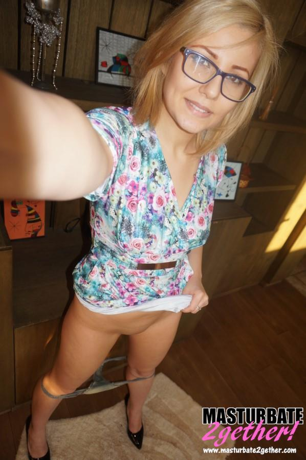Aussie blonde nude 2